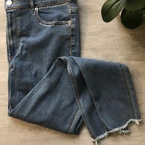 Express Rhinestone Jeans